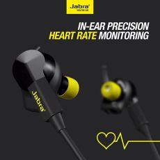 Jabra pulse bluetooth headphones and fitness tracker