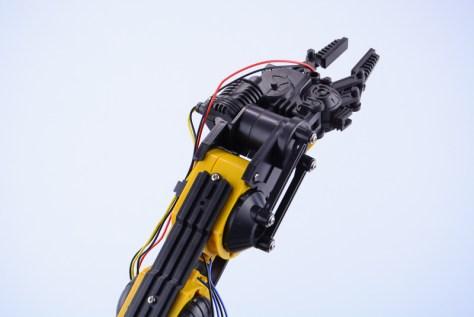 Robot arm pincer