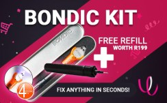 Buy a Bondic® Liquid Welder Kit and receive a free refill worth R199