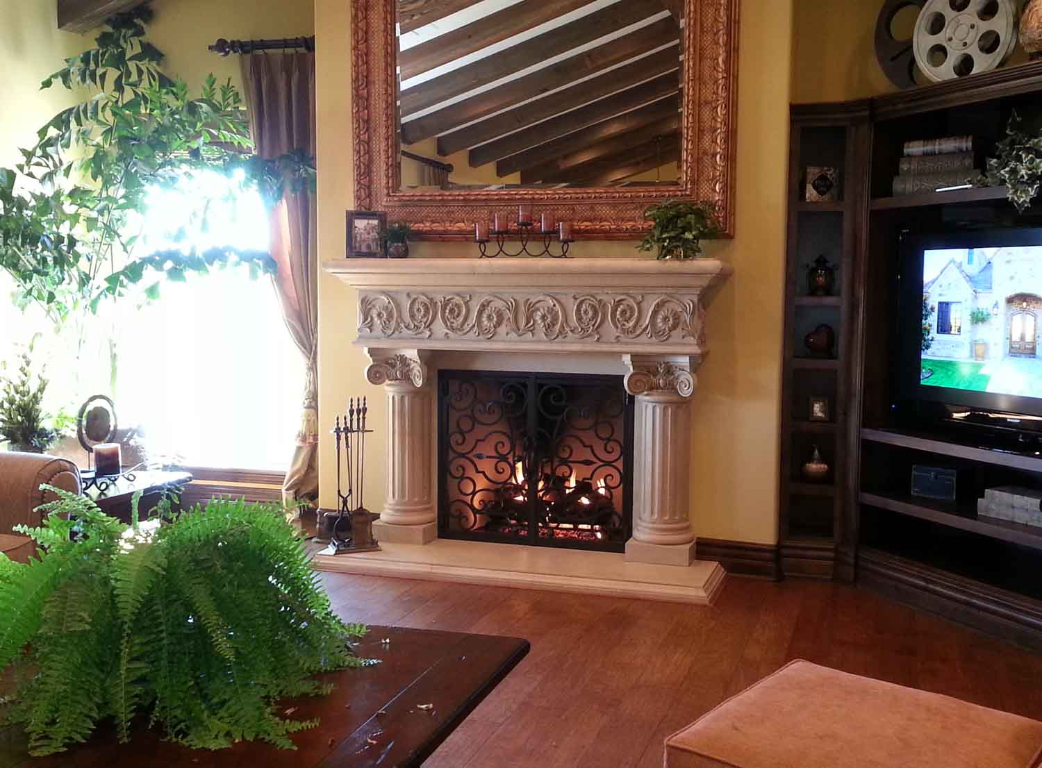 San Diego Fireplace Mantels Elegant Fireplaces in San Diego CA