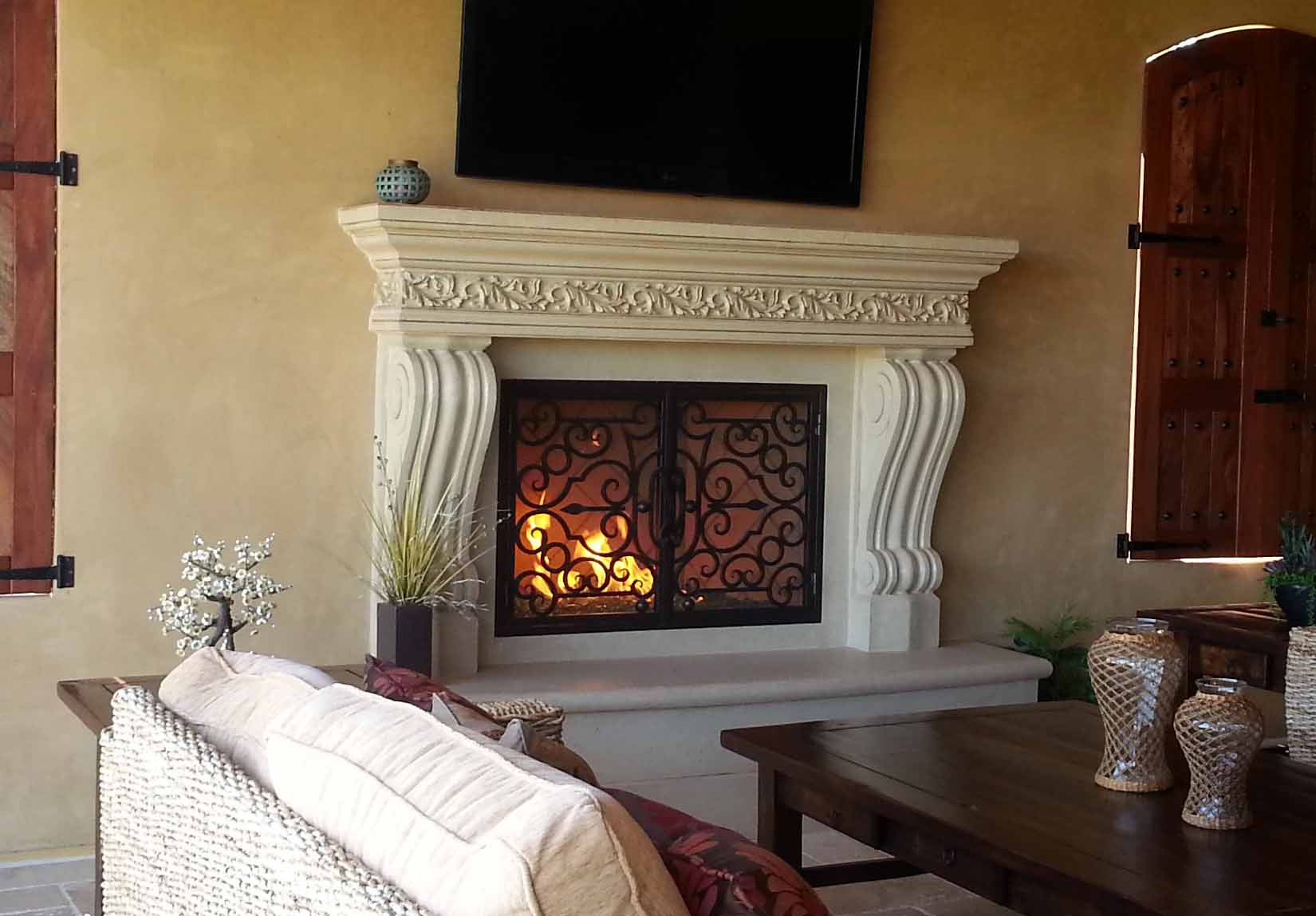 san diego fireplace mantels - elegant fireplaces in san diego ca