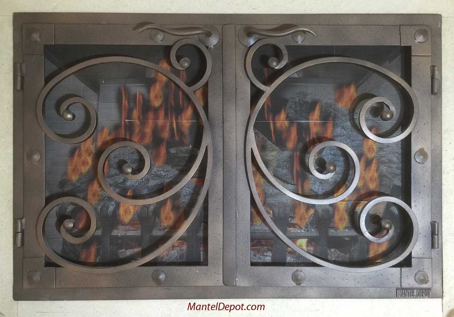 100+ [ Woodland Direct Fireplace Doors ] | Arched Fireplace ...