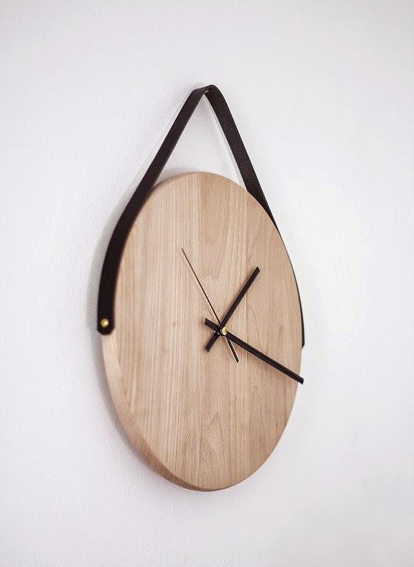 C mo hacer un reloj de pared con madera manualidades gratis - Hacer un reloj de pared ...