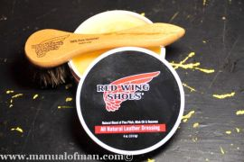 Red Wing Natural Boot Dressing and Dauber Brush - 2