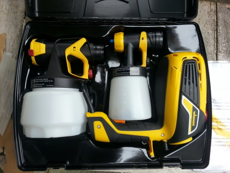 Wagner Flexio 590 Sprayer - Box Contents