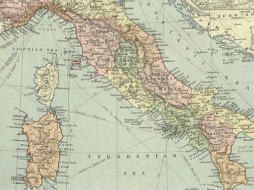Italia - Italy Map | Manuche
