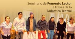 Seminario de fomento lector a través de la didáctica teatral
