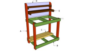 Building-a-potting-bench-600x354