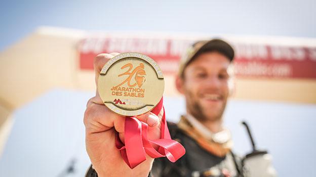 Marathon des Sables medal