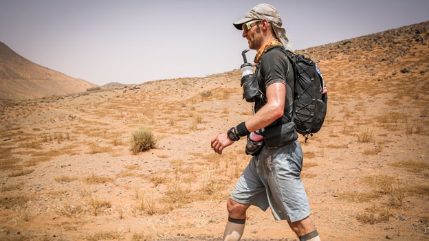 Marathon des Sables walking