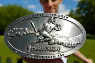 Centurion Running Thames 100 Belt Buckle