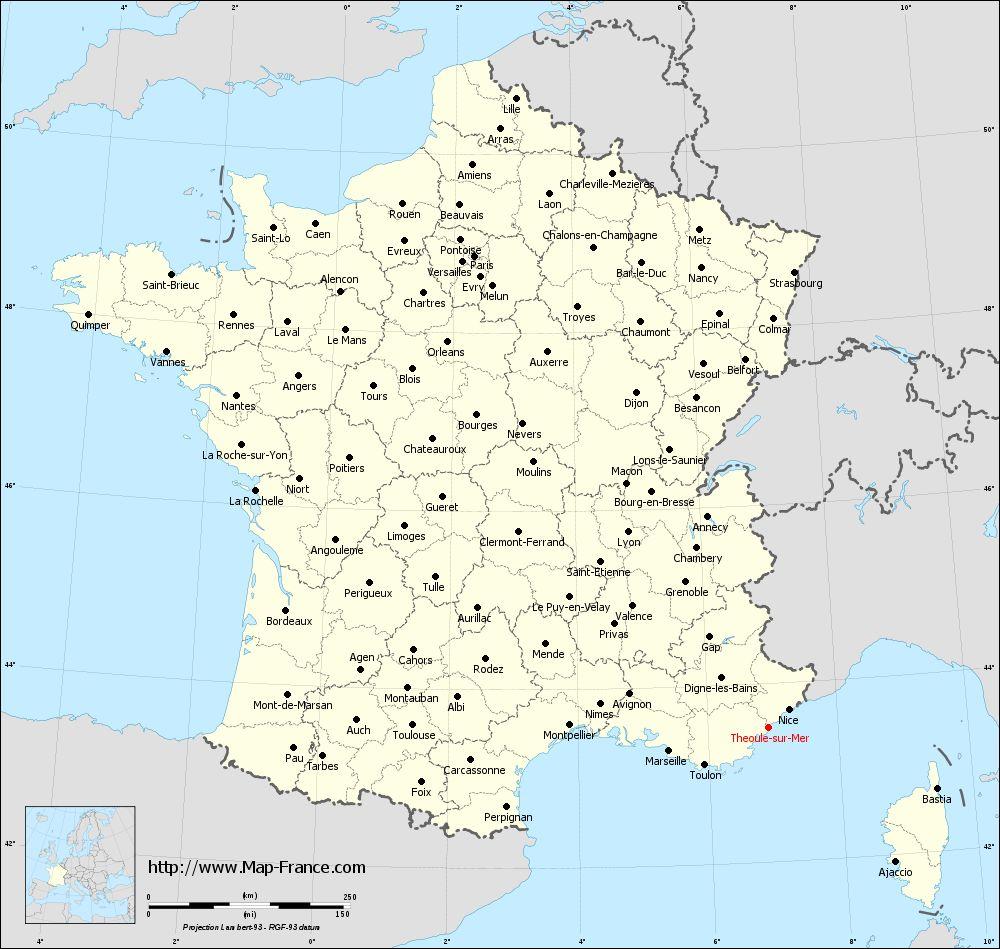 map sur