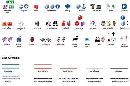 Map Symbols For Illustrator