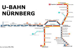 Nuremberg metro map 6