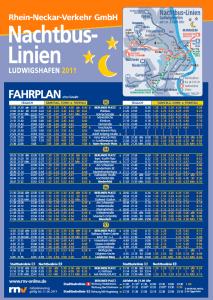Nachtbus linien Ludwigshafen