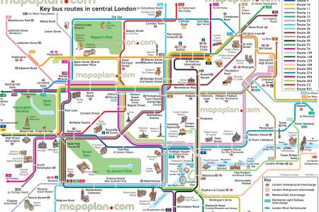 london top tourist attractions map 14 key bus routes by tourist attractions in central london high