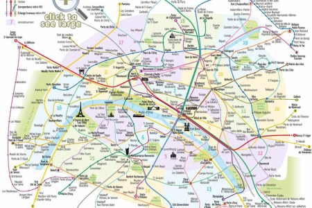 paris top tourist attractions map 03 metro with favourite sights