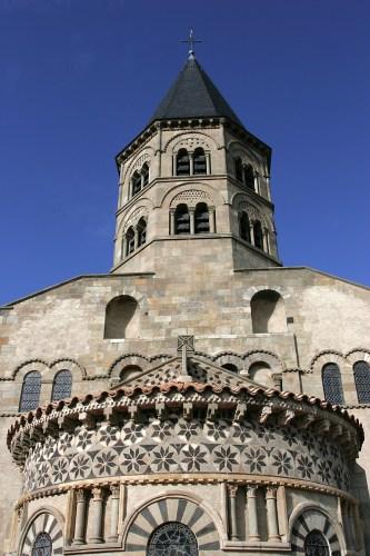 Notre-Dame-du-Port Clermont-Ferrand, France