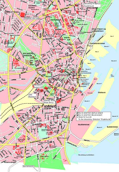 map of arhus
