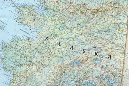 Map Pf Alaska - Ak map