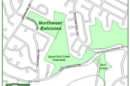 map of northwest austin