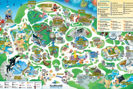 Map for sea world seaworld san diego theme park map gumiabroncs Gallery