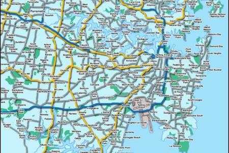 sydney australia tourist map 4