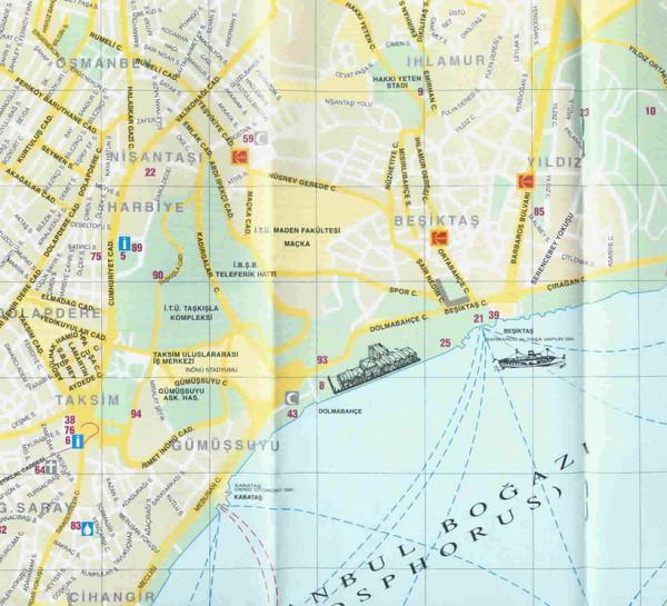 map taksim istanbul