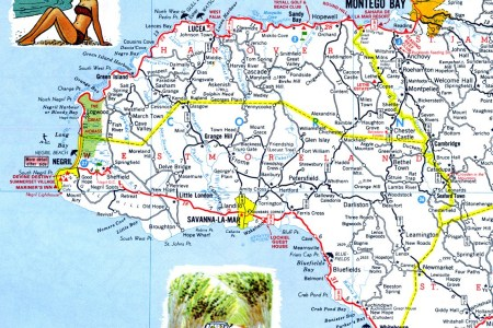 western jamaica road map
