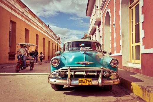 Vintage cars Cuba