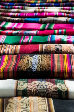 The Bolivian frasadas make a great feature rug for any room, alternatively use it as a highlight blanket at the foot of the bed, a vivid, festive tablecloth or a gloriously bold picnic blanket.