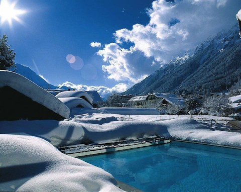 luxury hotel chamonix