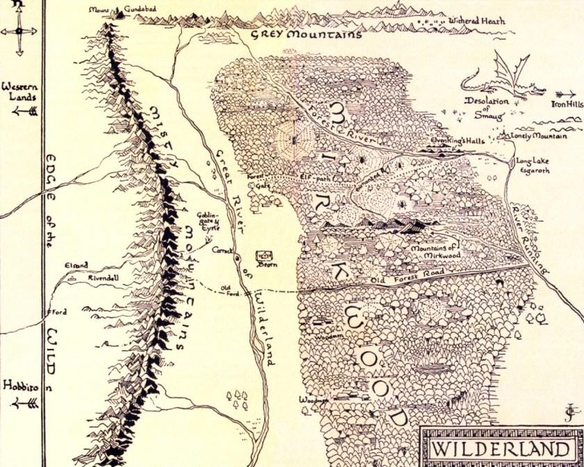 Map of Wilderland