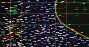 Map from StarTrekMap.com (detail)
