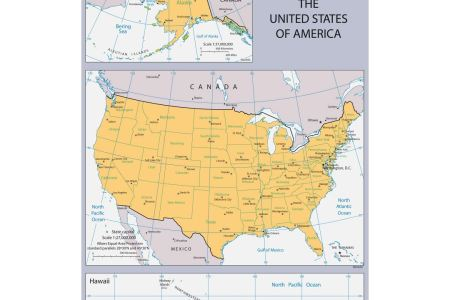 maps of the usa | detailed map of the usa (the united