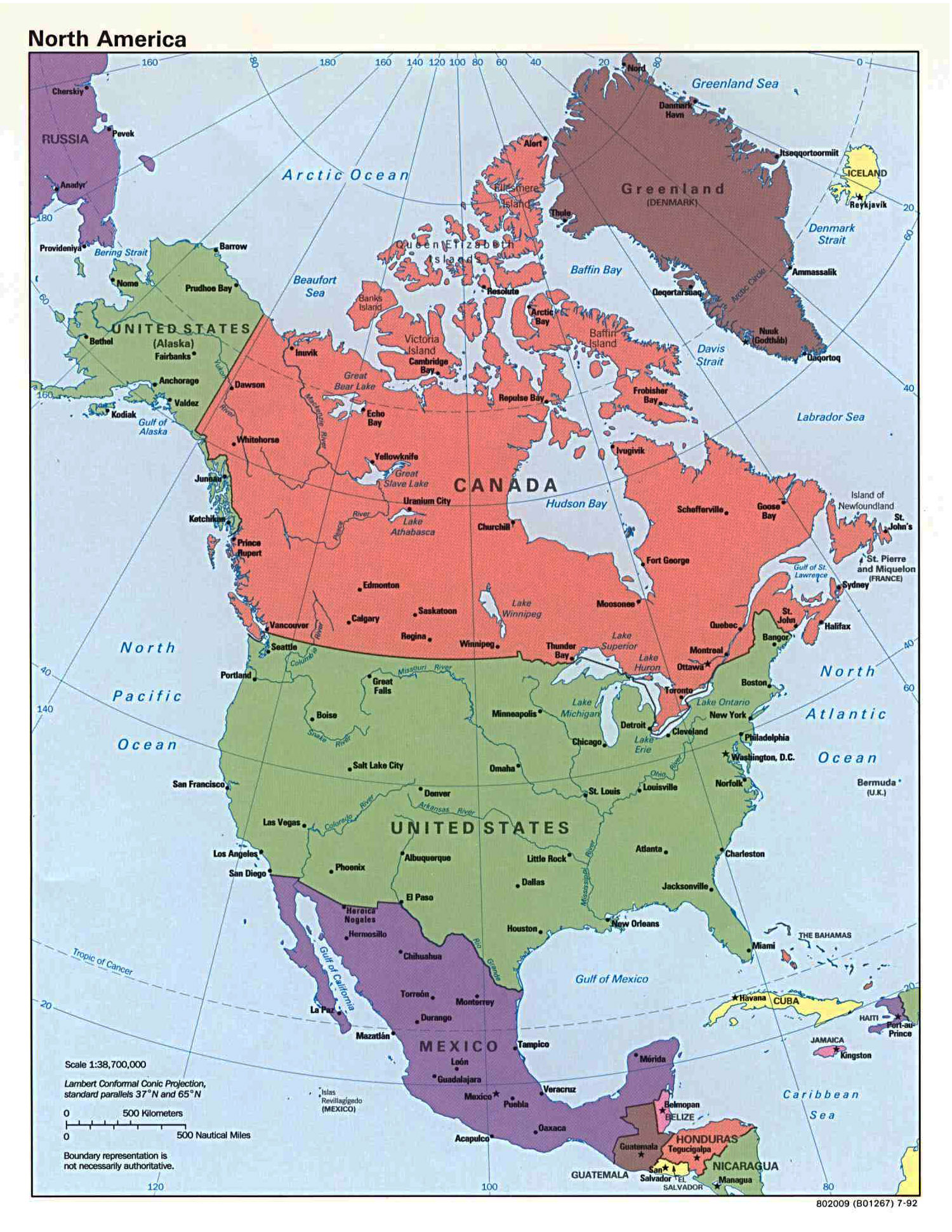 United States Map US Map With Major Cities Storyboard Pinterest