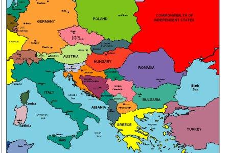 Map eastern world eastern world 1815 eastern europe gumiabroncs Choice Image