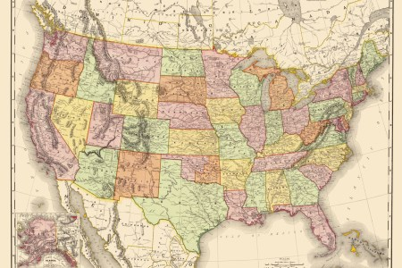 old state maps | united states of america (usa) by rand