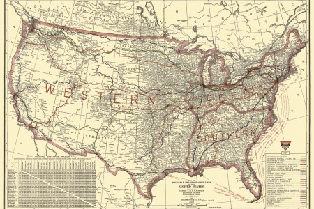 old railroad maps   united states transportation lines by