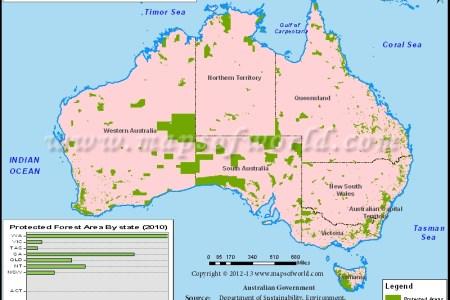394 australia map australia protected area map