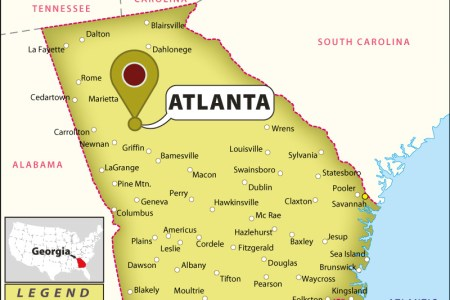 atlanta georgia map related keywords & suggestions