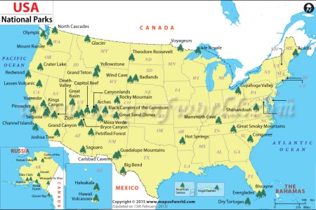 pics photos map national parks and