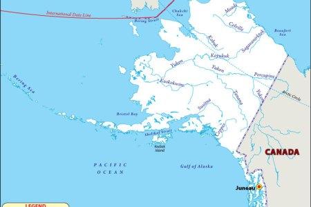 alaska rivers map | rivers in alaska