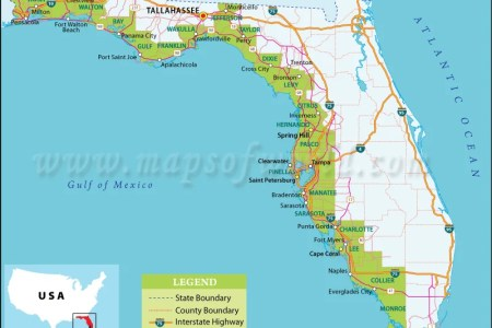 Map Of The West Coast Of Florida - Map of gulf coast florida