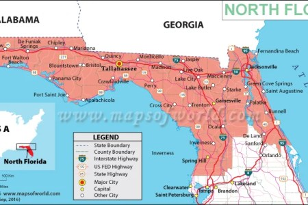Mapofnorthernfloridajpgresize - Map of cities in florida