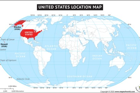 where is usa? where is the united states of america located?