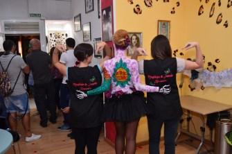 Body paint fiesta aniversario Beatriz Martínez