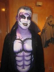 Maquillaje halloween vampiro