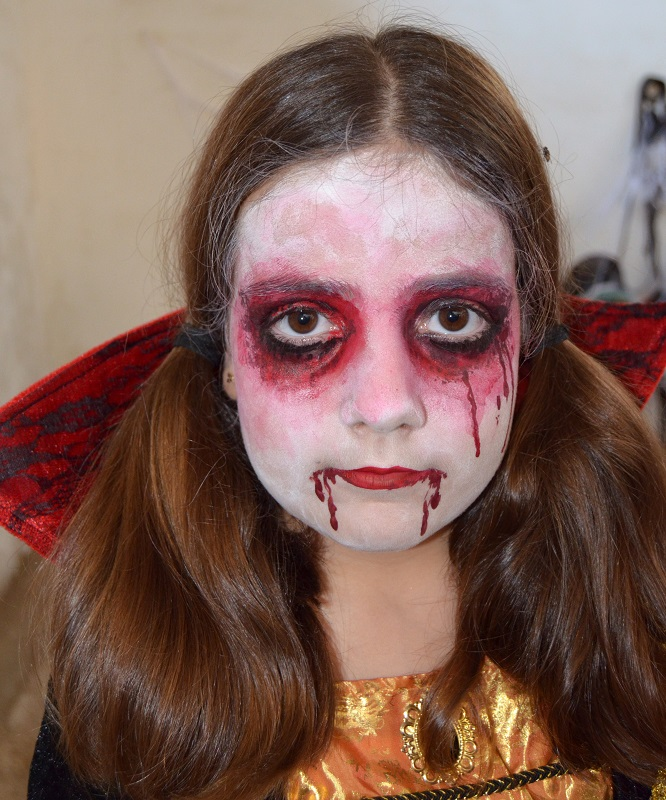 Maquillaje Halloween vampiro Murcia