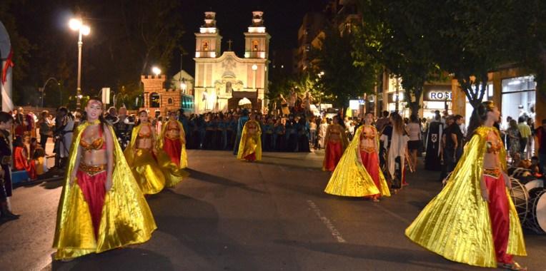 Desfile moros y cristianos Murcia